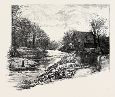 Morwick Mill, Acklington, Uk. Acklington Is A Small Village Art Print by English School