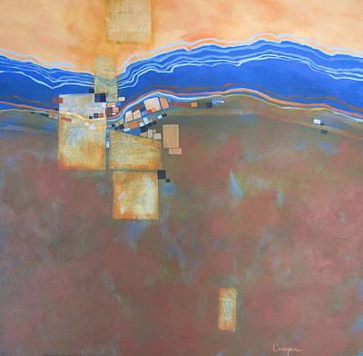 Mosaic 20 Art Print by Carlynne Hershberger