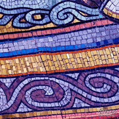 Mosaic Abstract 2 Original by Tony Rubino