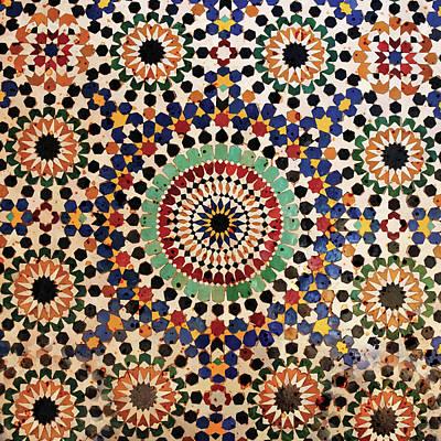 International Painting - Mosaic by Bomo