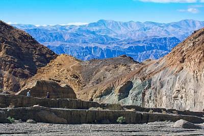 Photograph - Mosaic Canyon Picnic by Stuart Litoff