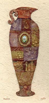 Jerusalem Painting - Mosaic Jug by Michoel Muchnik