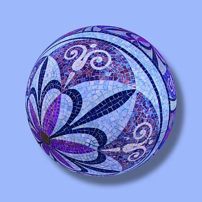 Mosaic Orb 1 Original by Tony Rubino