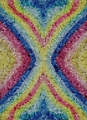 Digital Art - Mosaic Partnership by Barbara St Jean