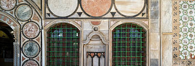 Mosaic Photograph - Mosaic Tiles On Wall Of A Mosque by Panoramic Images