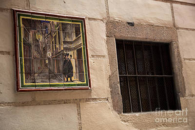 Mosaic Window Art Print by Rene Triay Photography