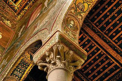 Mosaics Of Monreale  Art Print