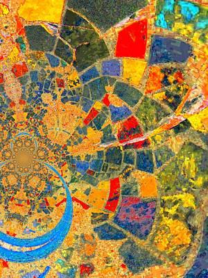 Mosaik Art Print by Nico Bielow