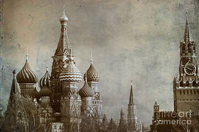 Byzantine Photograph - Moscow by Bernard Jaubert