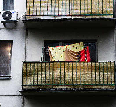 Photograph - Moscow Laundry by Gina  Zhidov