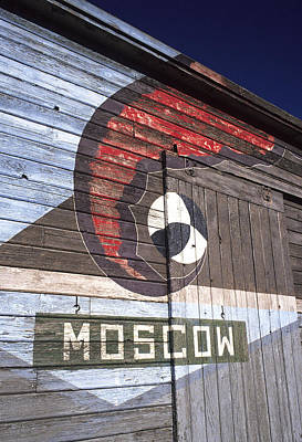 Photograph - Moscow Storage Barn by Doug Davidson