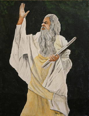 Painting - Moses  by Betty-Anne McDonald