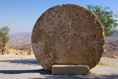 Mount Nebo Photograph - Moses Memorial Church, Mt Nebo, Amman by Keren Su