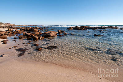 Photograph - Moses Rock Beach 03 by Rick Piper Photography