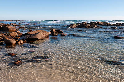 Photograph - Moses Rock Beach 04 by Rick Piper Photography
