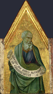 Painting - Moses by Ugolino di Nerio