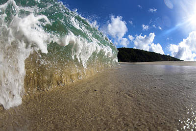 Ocean Energy Photograph - Moses Wave by Sean Davey