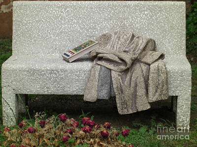 Photograph - Mosiac Bench by Deborah Smolinske
