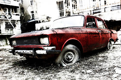 Photograph - Moskvitch by Selke Boris