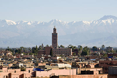 Photograph - Mosque And Mountains by Mick House