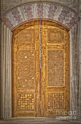 Venice Beach Bungalow - Mosque doors 18 by Antony McAulay