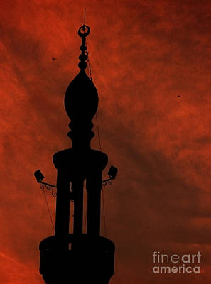 Art Print featuring the photograph Mosque by Mohamed Elkhamisy