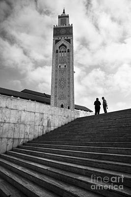 Moroccan Photograph - Mosque Of Hassan II by Yuri Santin