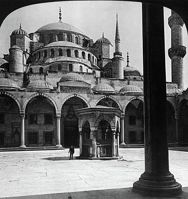 Byzantine Painting - Mosque Of Sultan Ahmed by Granger