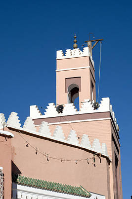 Photograph - Mosque Tower In Marrakech by Mick House