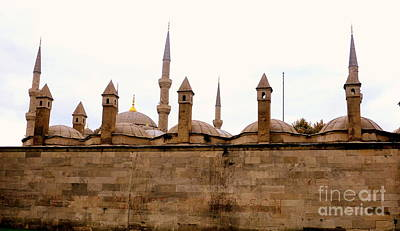 Photograph - Mosque Towers by John Potts