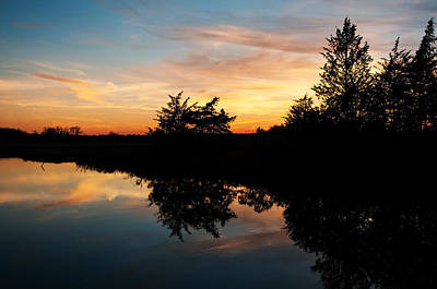 Photograph - Mosquito Creek Sunset by Lara Ellis
