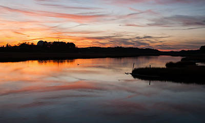 Photograph - Mosquito Creek Sunset Reflections by Lara Ellis