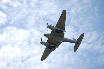Photograph - Mosquito On Final Approach by Mark Alan Perry