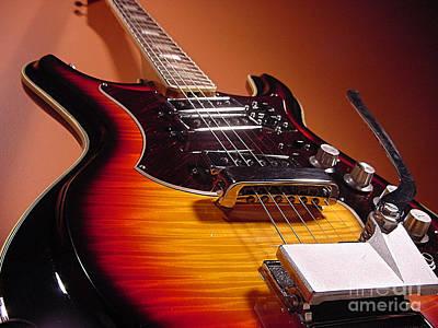Mosrite Guitar Art Print