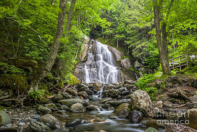 Photograph - Moss Glen Falls Vermont by Susan Cole Kelly