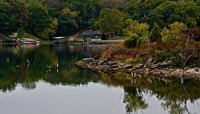 Photograph - Moss Lake Cove by Ricardo J Ruiz de Porras