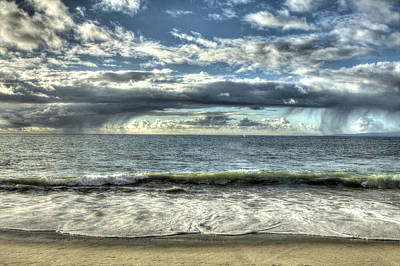 Photograph - Moss Landing In The Clouds by SC Heffner