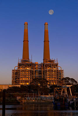 Photograph - Moss Landing Power Plant by Kathleen Bishop