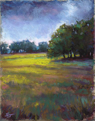 Pastel - Moss Meadows by Susan Jenkins
