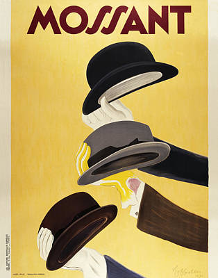 Champagne Painting - Mossant by Vintage Images