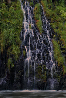 Waterfall Photograph - Mossbrae Falls by Alan Kepler