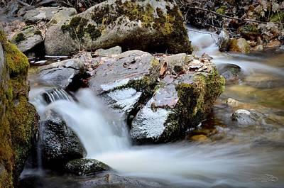 Okanagan Valley Photograph - Rushingwaters 3/22/2014 by Guy Hoffman