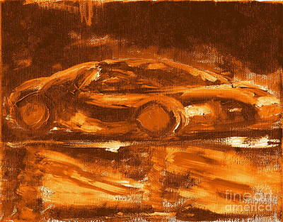 Painting - Most Expensive Fastest Car Bugatti Veyron Super Sport 2 by Richard W Linford