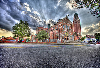 Redeemer Photograph - Most Holy Redeemer Catholic Church Detroit Mi by A And N Art