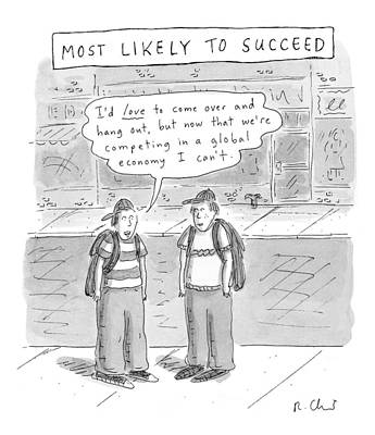 Most Drawing - Most Likely To Succeed by Roz Chast