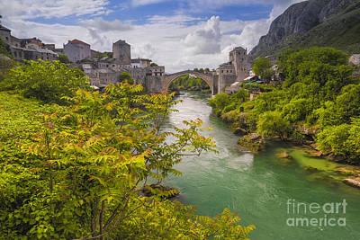 Bosnae Photograph - Mostar  Bosna by Todor Bozhkov