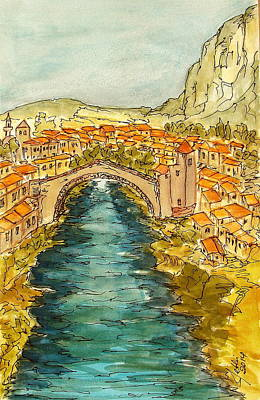 Mostar Bosnia And Herzeginova Original