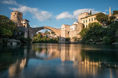 Mostar Photograph - Mostar Bridge by Okan YILMAZ