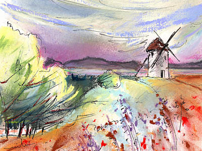 Don Quijote Painting - Mota Del Cuervo 05 by Miki De Goodaboom
