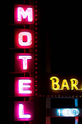 Photograph - Motel Bar Hbo by James BO  Insogna